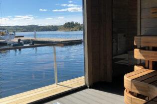 Nyt sjøen hele året med badstueflåte
